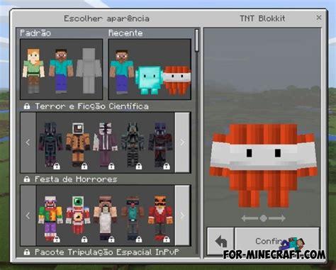 Blokkit Skin Pack For Mcpe (bedrock) 1.2.5