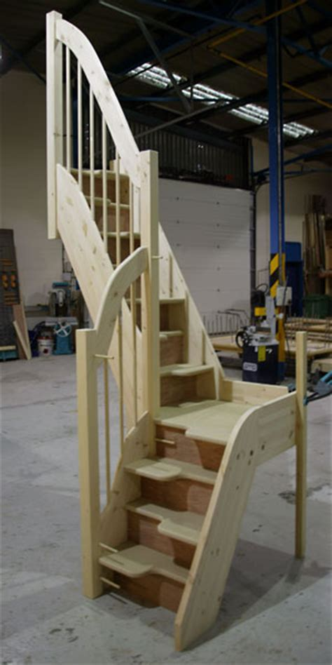 Spacesaver Staircases by Alternating Tread Staircases Quarter Turn Jpg