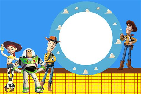 toy storybday card templates invitaciones de toy story gratis ideas y material