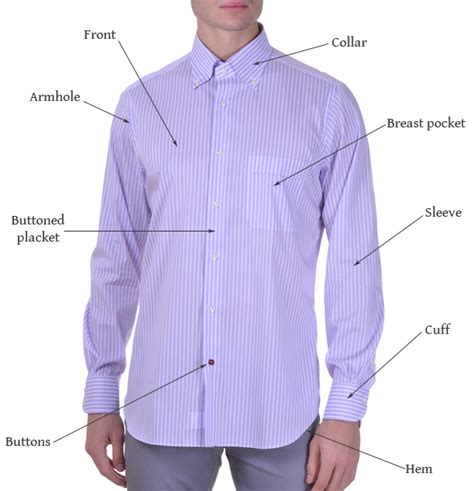 definition of blouse what are the parts of a 39 s shirt kamiceria 39 s