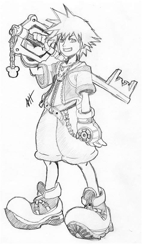 printable kingdom hearts coloring pages  kids
