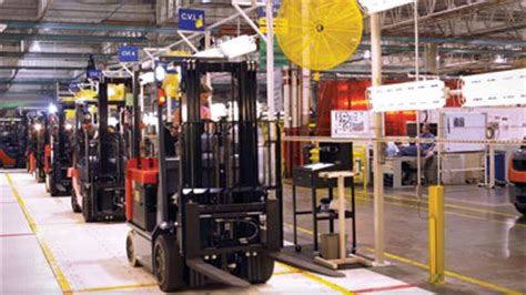 pm improvements  toyota lift truck plant