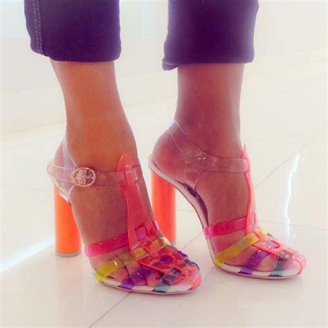 atsophiawebster heels   jelly shoe newatlevel