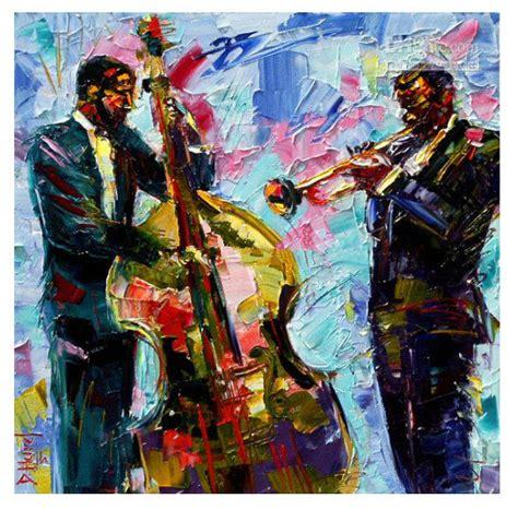 jazz modern contemporary original abstract canvas