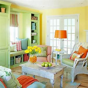111 bright and colorful living room design ideas digsdigs for Bright living room