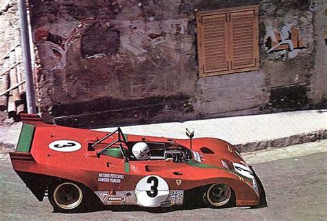 1991   changed parts + ferrari 312 p sport 12 hours sebring 1971 tameo kits 1:43 tmk147. 1972 Targa Florio - Ferrari 312PB   Classic racing cars, Sports cars ferrari, Sports car racing