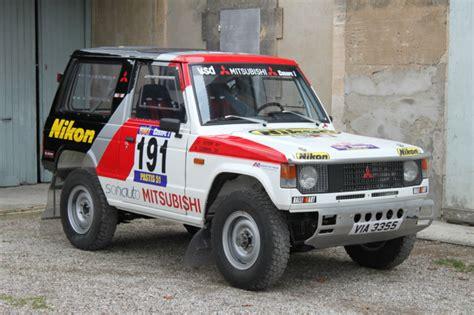 mitsubishi pajero dakar paris dakar class winner 1984 mitsubishi pajero bring a
