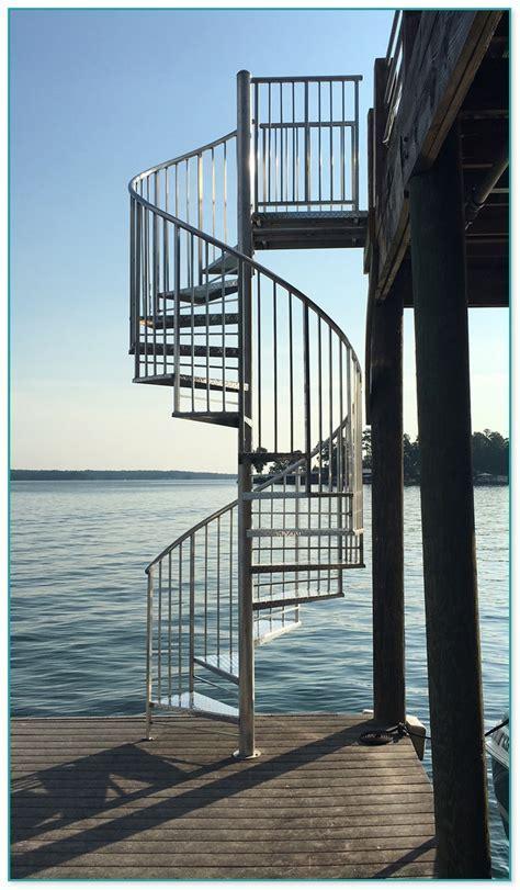 Exterior Spiral Staircase Kit