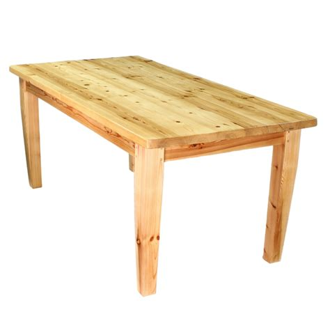 country kitchen dining tables modern rustic solid knotty six foot country pine kitchen 6056
