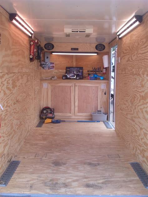 used c tech cabinets v nose trailer cabinet build cabinets design ideas