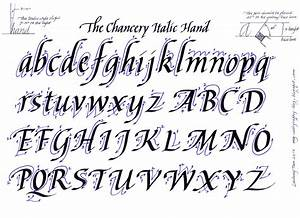 Italic alphabet ludwig tan http my calligraphy blog for Calligraphy pen letters