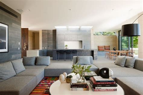modern kitchen living room ideas airy living rooms with open kitchen designs