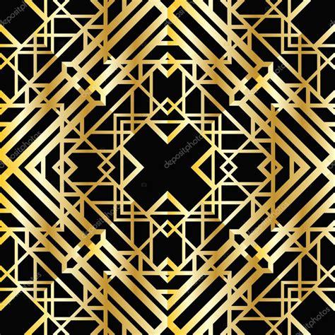 Art deco geometric pattern ? Stock Vector © Smirno #35619403