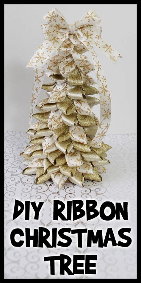 diy ribbon christmas tree woo jr kids activities