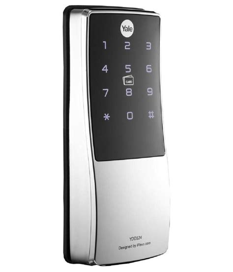 buy yale digital door lock with smart card key ydd 324 at low price in india snapdeal