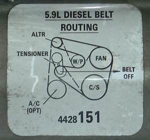35 2006 Dodge Ram 1500 Serpentine Belt Diagram