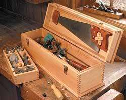 toolbox plans  woodworkers wood tool box
