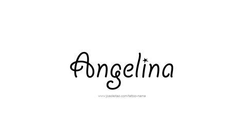 angelina  tattoo designs