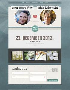 wedding invite html by rockable themeforest With wedding invitation template themeforest