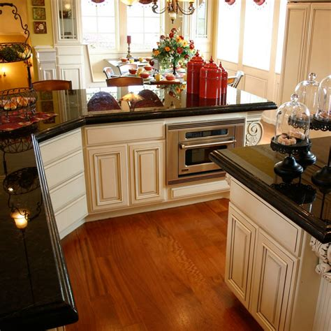 Best Granite Choices With White Cabinets Gorgeous Home Design