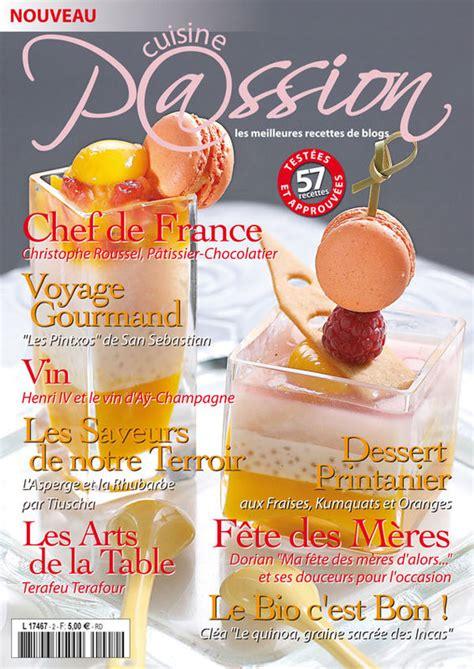 magazines de cuisine magazine cuisine édition n 2