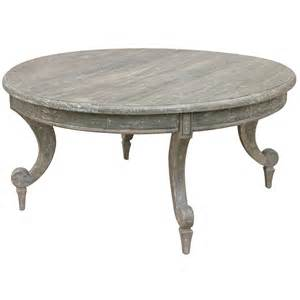 Coastal round coffee table for Round coastal coffee table