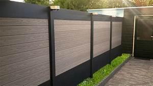 Palissade De Jardin : palissade en bois composite et aluminium ideal brise ~ Melissatoandfro.com Idées de Décoration