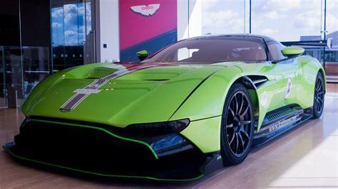 lambo green aston martin vulcan      million