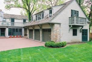 3 Car Garage with Carriage House