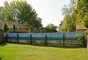 modern kitchen backsplashes mural on fence style landscape other metro by cny murals