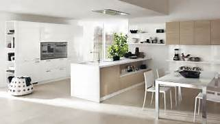 Bright Kitchen Interior Natural Nuance Kitchens In Large And Small Spaces Designed By Scavolini Full Kitchen