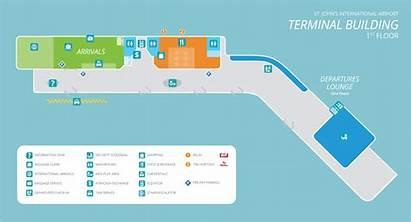 Airport Terminal Maps Map Building International St