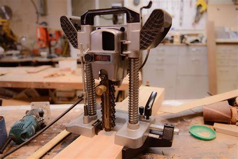 tool geeks meet  ryobi chain mortiser  samurai