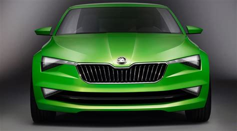 Skoda Vision C Concept (2014) First Official Pictures By