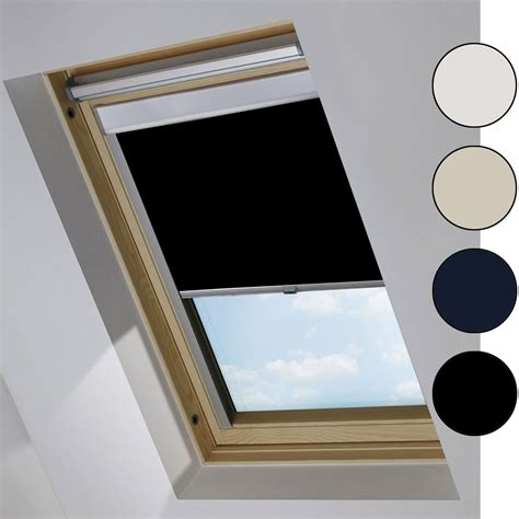 rollos für velux fenster verdunkelungsrollo passend f 252 r velux dachfenster thermorollo verdunkelung rollo ebay
