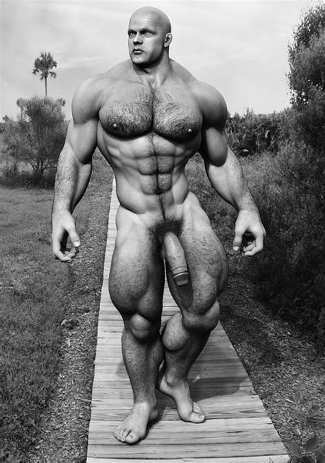 Classic Muscle Fantasy Art At 3 D Gay Art Destination Male Porn Blog