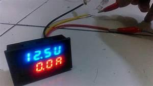 Dual Led Digital Voltmeter Ammeter   Volt  U0026 Ampere Tester