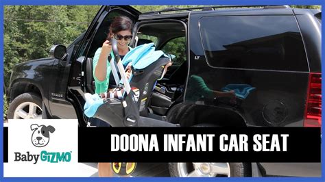 doona infant car seat review youtube