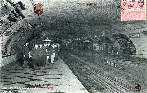 about chaise métro père lahcaise ligne 2 1905