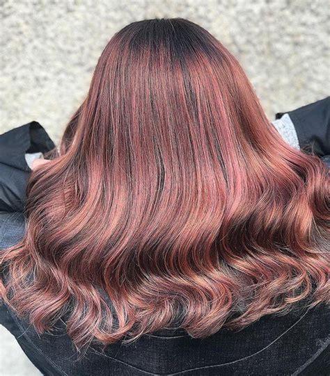 rose brown hair   prettiest spring trend