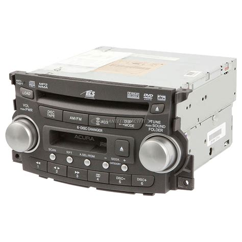 acura tl radio  cd player radio  type  models
