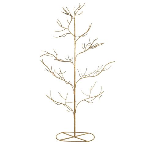 Gold Twig Metal Christmas Tree