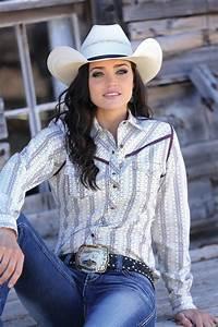 Cruel Girlu00ae Ladiesu0026#39; Burgundy and White Striped Print Snap Shirt | Pearl Snaps | Pinterest ...