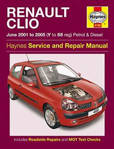 Haynes 4168 Workshop Repair Manual Renault Clio Petrol