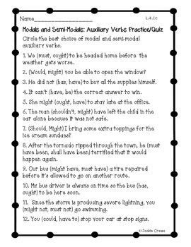 Modal Auxiliaries Worksheets Grade 8  Modals Verbs Exercises 3 Eso Pdf Grammar Modal I125 Free