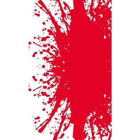 grunge red splatter  vector