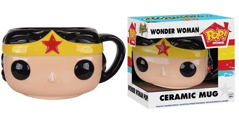 Pop! Home: DC   Wonder Woman Pop! Ceramic Mug   Funko