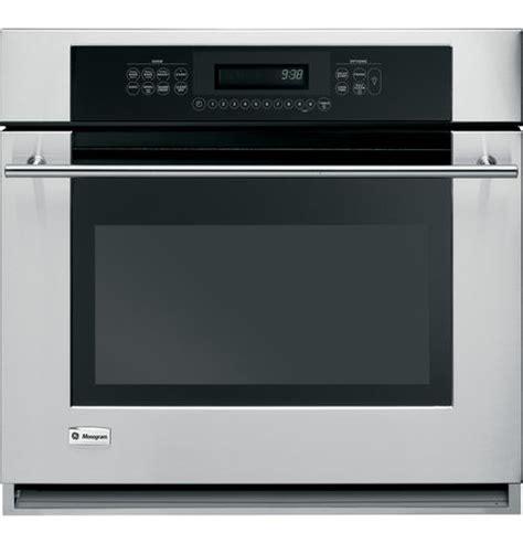 zetsmss ge monogram  built  electric single oven monogram appliances