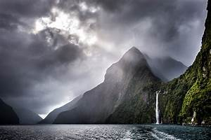 Storm, Clouds, On, Mountain, Lake, Wallpapers, -, 1573x1050