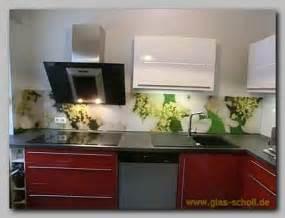 modern backsplash kitchen ideas küchenspritzschutz mit apfelblüten digitaldruckmotiv